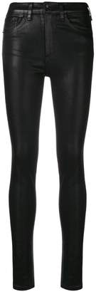 Rag & Bone shiny skinny trousers