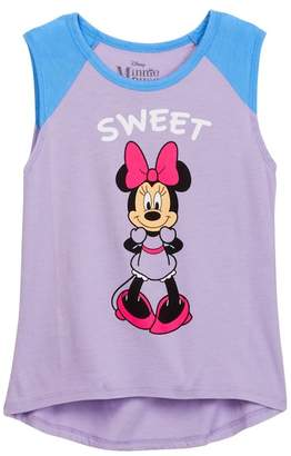 Jerry Leigh Sweet Sassy Minnie Muscle Tank (Little Girls & Big Girls)