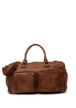 Frye Washed Weekend Leather Duffel Bag