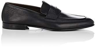 Ermenegildo Zegna Men's Leather Penny Loafers