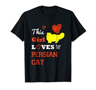 This Girl Loves Persian Cat Funny Gift Shirt-PREMIUM QUALITY