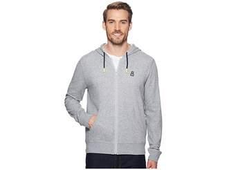 Psycho Bunny Double Face Hoodie w/ Printed Interior Logo Men's Sweatshirt