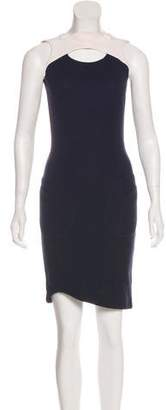 Thierry Mugler Sleeveless Knee-Length Dress