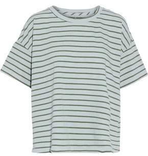 Current/Elliott Striped Cotton-Jersey T-Shirt