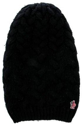 MonclerMoncler Cable Knit Beanie