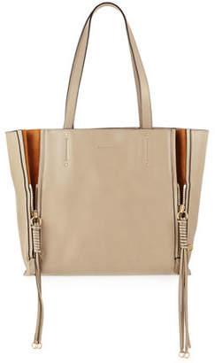 Chloé Milo Medium Leather & Suede Tote Bag