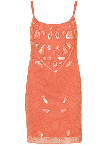 Dorothy Perkins Scarlett B Coral Cami Dress