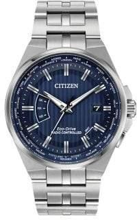 Citizen World Perpetual A-T Stainless Steel Bracelet Watch