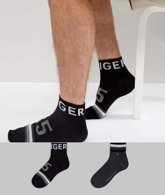 Tommy Hilfiger Quarter Socks 2 Pack American Heritage