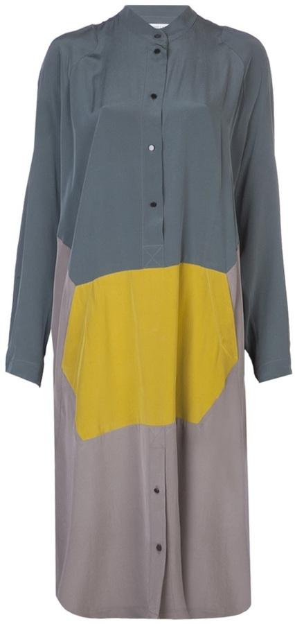 Jeremy Laing multicolor panel dress