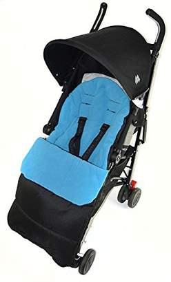 babystyle Footmuff/Cosy Toes Compatible with Prestige Pushchair Ocean Blue