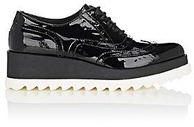 Barneys New York WOMEN'S PATENT LEATHER PLATFORM OXFORDS