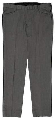 Gucci Slim-Fit Patterned Dress Pant