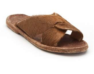 Matisse Alabama Genuine Calf Hair Slide Sandal