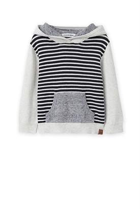 Country Road Stripe Knit Hoody