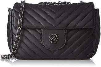 Morgan 172-2stipo.a, Women's Cross-Body Bag, Noir, (W x H L)