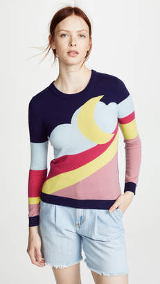 Moschino Moon Landscape Sweater