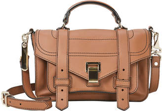 Proenza Schouler PS1 + Medium Brown Crossbody Bag