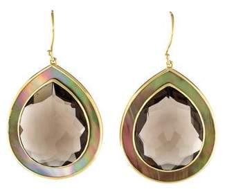 Ippolita 18K Mother of Pearl & Smoky Quartz Ondine Drop Earrings