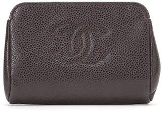 Chanel (シャネル) - Luxury Brands Vintage Bags & Accessories CHANEL 型押しレザー 小銭入れ ブラウン