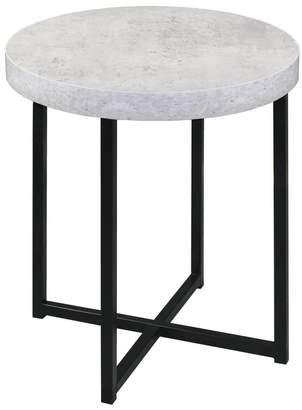 Home & Giftware Harper Faux Concrete Side Table