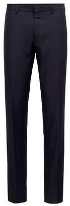 HUGO BOSS Slim-fit trousers in washable virgin wool