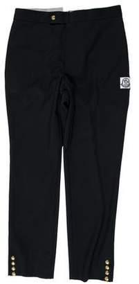 Moncler Flat Front Wool Pants w/ Tags
