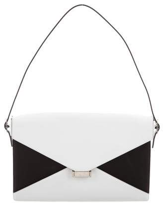 Celine Spazzolato Calfskin Medium Diamond Shoulder Bag