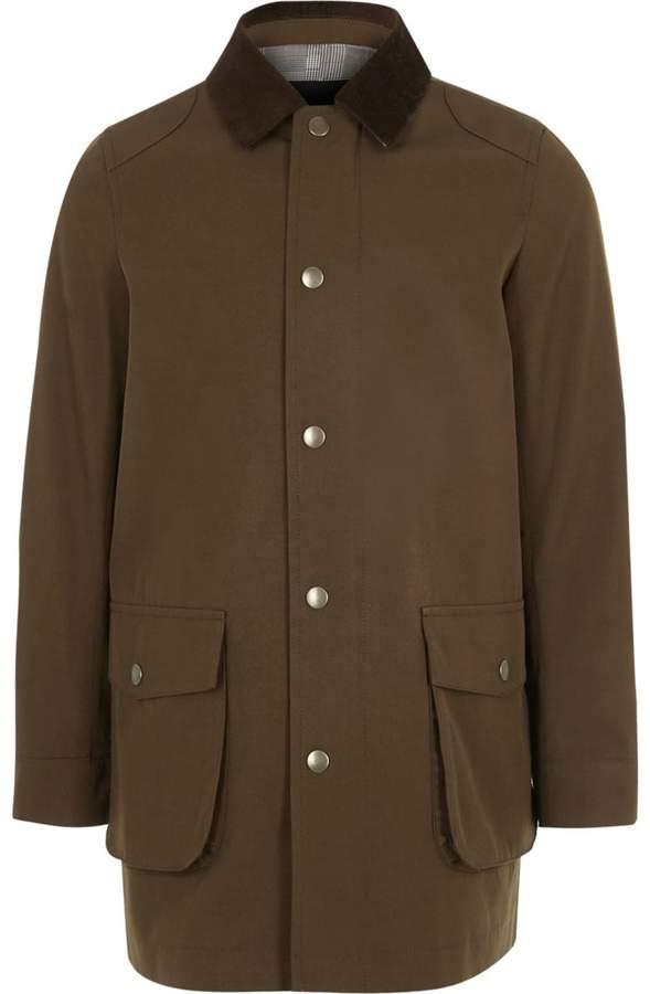 Boys Brown cord collar jacket