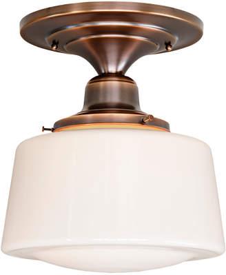 """Rejuvenation Grant Court 6"""" Fitter LED Semi-Flush Fixture"""