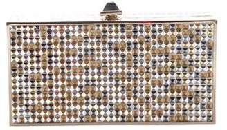 Judith Leiber Studded Box Clutch