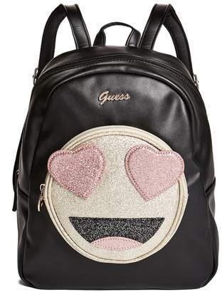 GUESS Factory Girl's Julieta Emoji Backpack