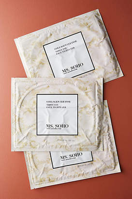 Ms. Soho Collagen Cleanse 3-Day Face Tightener Mask Set