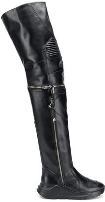 Toga Pulla over-the-knee boots
