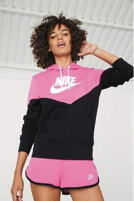 Next Womens Nike Heritage Colourblock Hoody