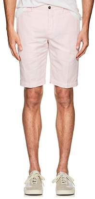 Pt01 Men's Linen-Cotton Bermuda Shorts