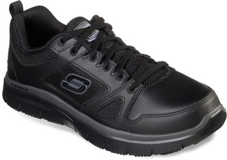 Skechers Relaxed Fit Flex Advantage Men's Slip-Resistant Work Shoes