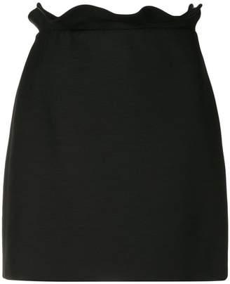 Valentino frill trim mini skirt