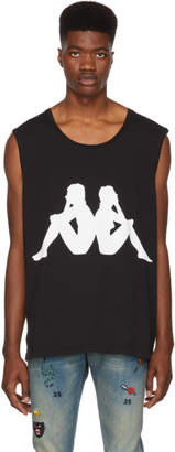 Faith Connexion Black Kappa Edition Sleeveless T-Shirt