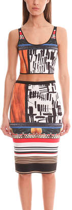 Clover Canyon Imperial Markings Reversible Crop Top