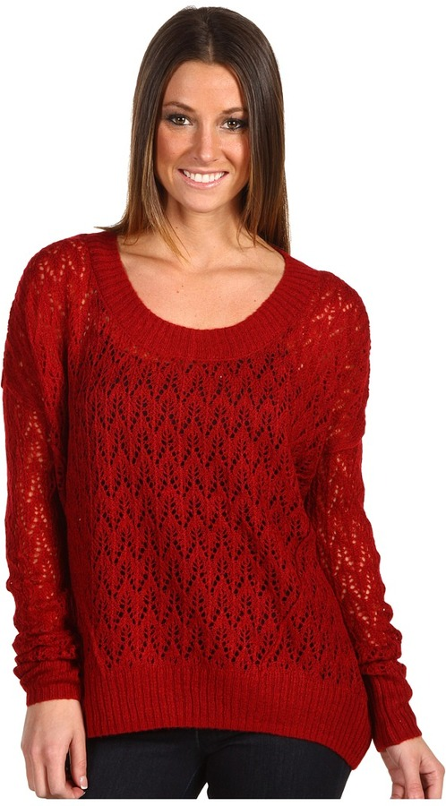 Kensie L/S Tissue Knit Sweater