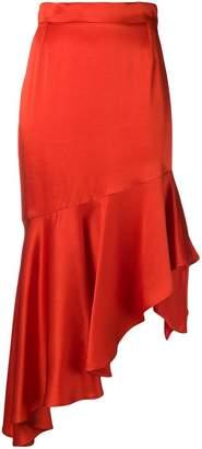 Semi-Couture Semicouture asymmetric ruffle skirt