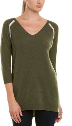 Two Bees Cashmere V-Neck Top