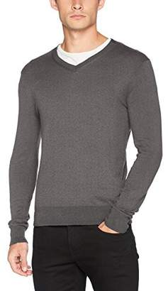 Sisley Men's V-Neck Classical Jumper