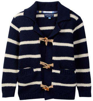 Andy & Evan Striped Cardigan (Toddler & Little Boys) $49 thestylecure.com