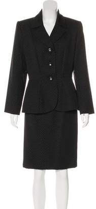 Saint Laurent Vintage Wool Skirt Suit