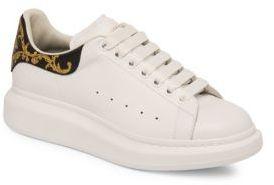 Alexander McQueen Low-Top Platform Sneakers $590 thestylecure.com