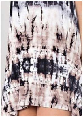 story. 143 Tiedye T-Shirt Dress