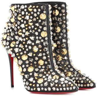 Christian Louboutin So Full Kate 100 ankle boots