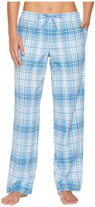 Life is Good Powder Blue Plaid Sleep Pant Women's Pajama